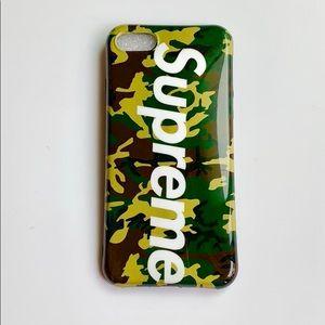 Supreme Case for iPhone 7/7 plus/8/8 plus